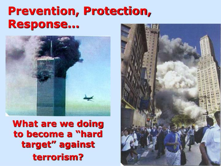 Prevention, Protection, Response...