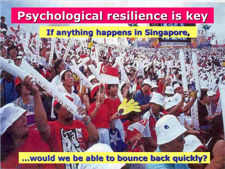 Psychological resilience is key