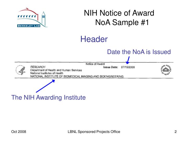Nih notice of award noa sample 1 l.jpg