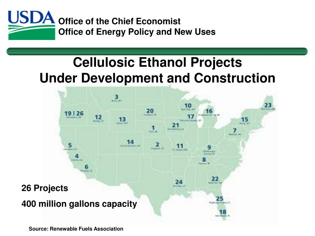 Cellulosic Ethanol Projects