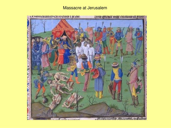 Massacre at Jerusalem