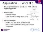 application concept 1