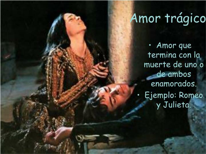 Amor trágico