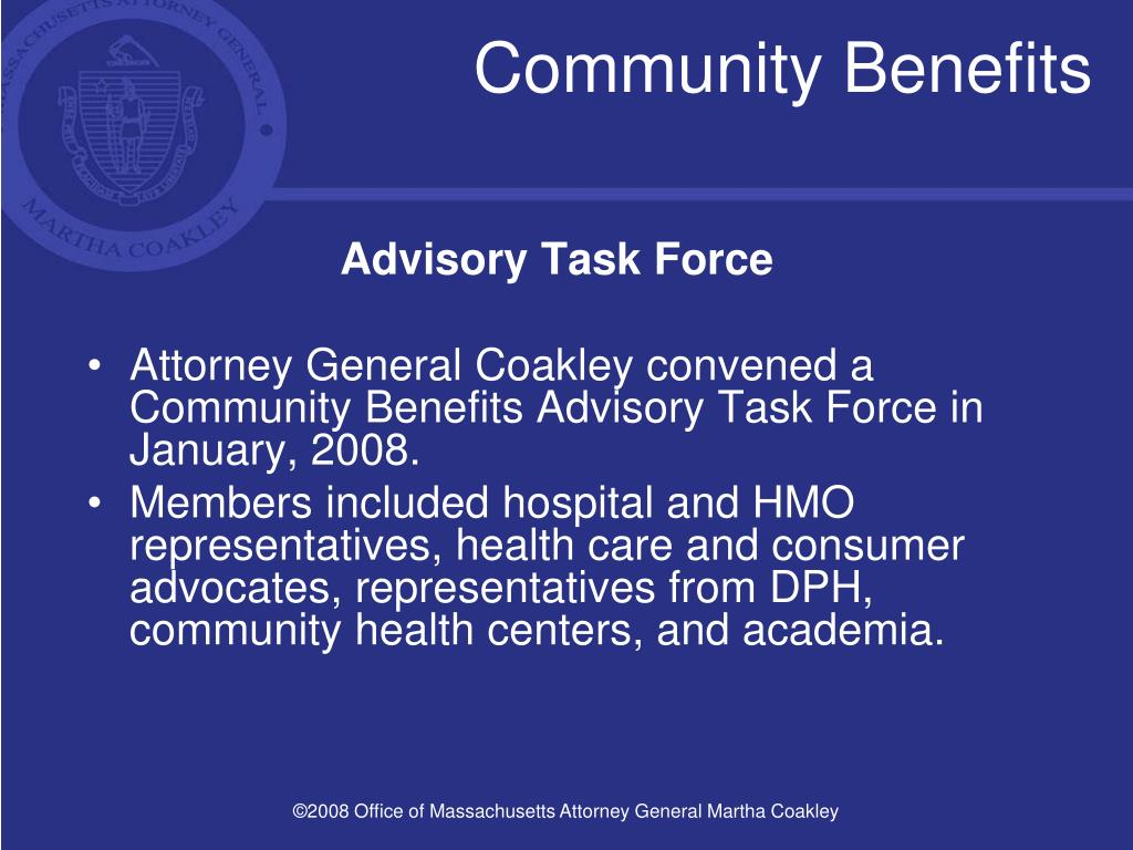 Community Benefits