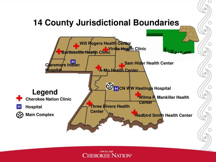 14 County Jurisdictional Boundaries