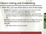 object linking and embedding5