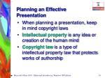 planning an effective presentation14
