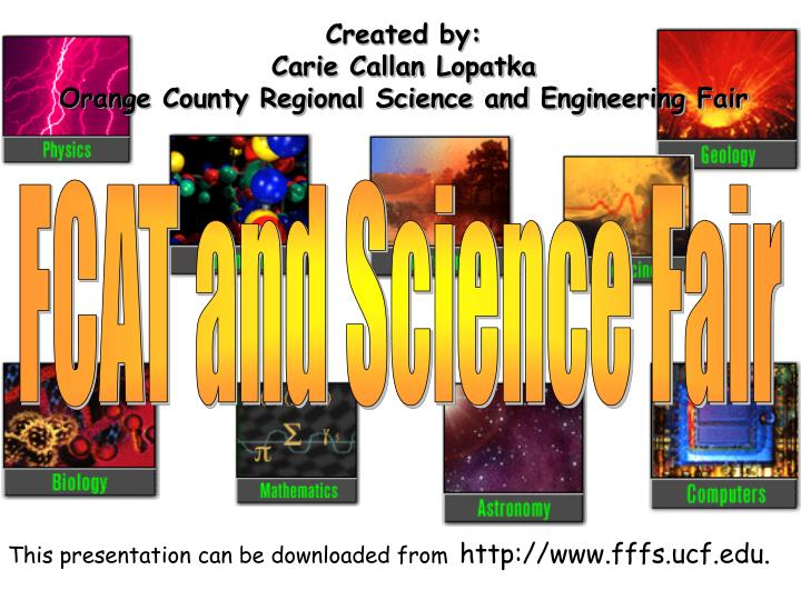 FCAT and Science Fair