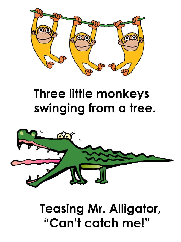 Three little monkeys