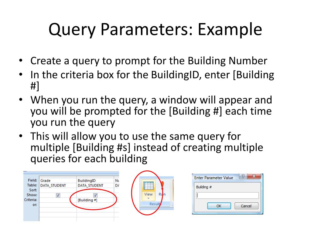 Query Parameters: Example