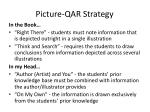 picture qar strategy