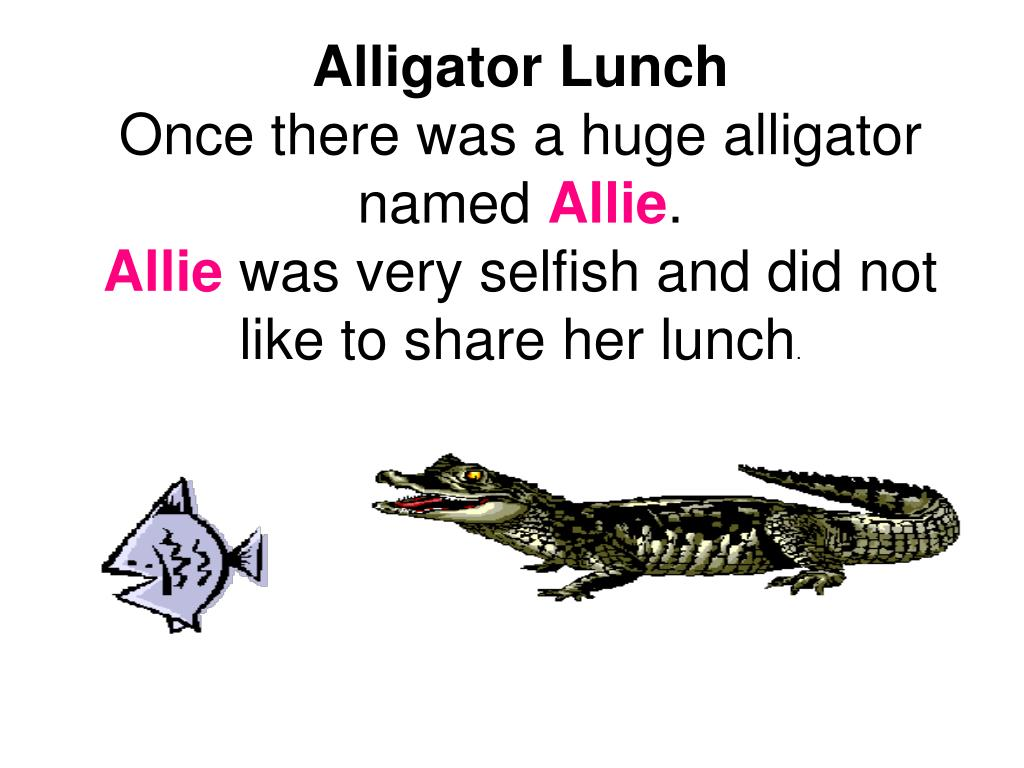 Alligator Lunch