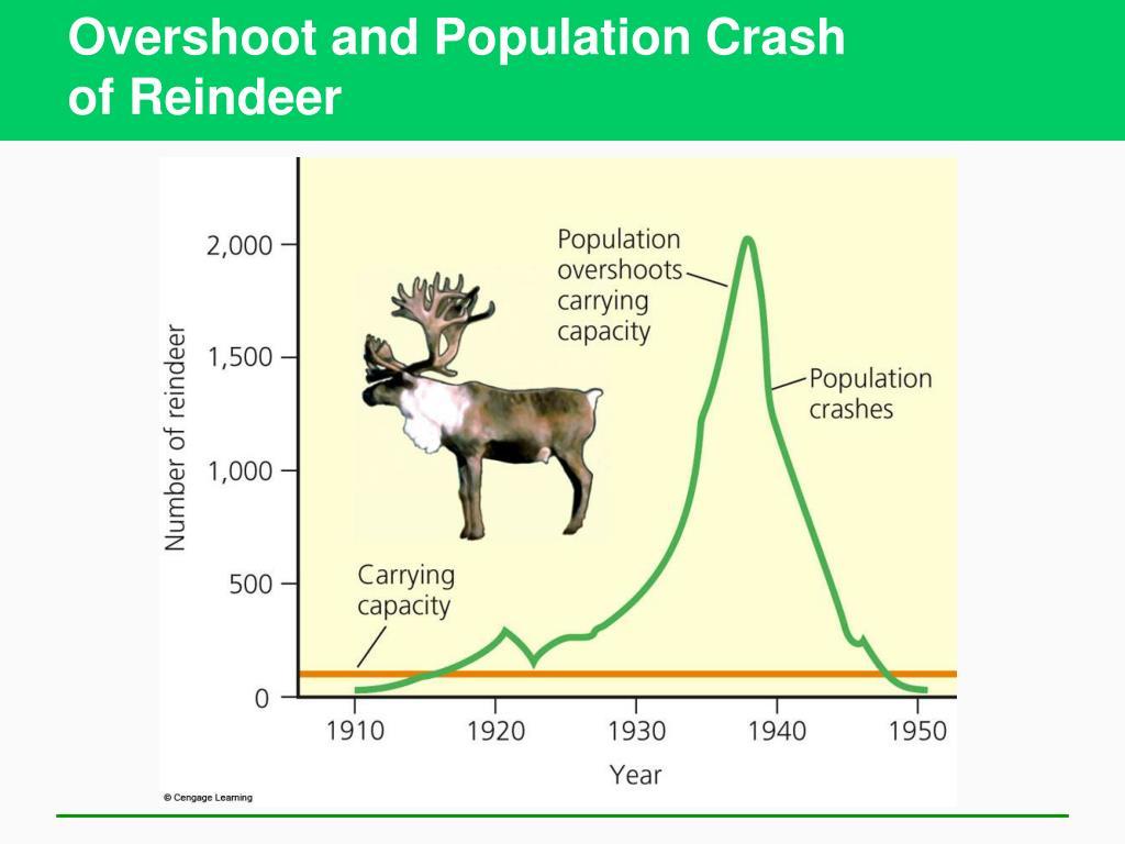 Overshoot and Population Crash