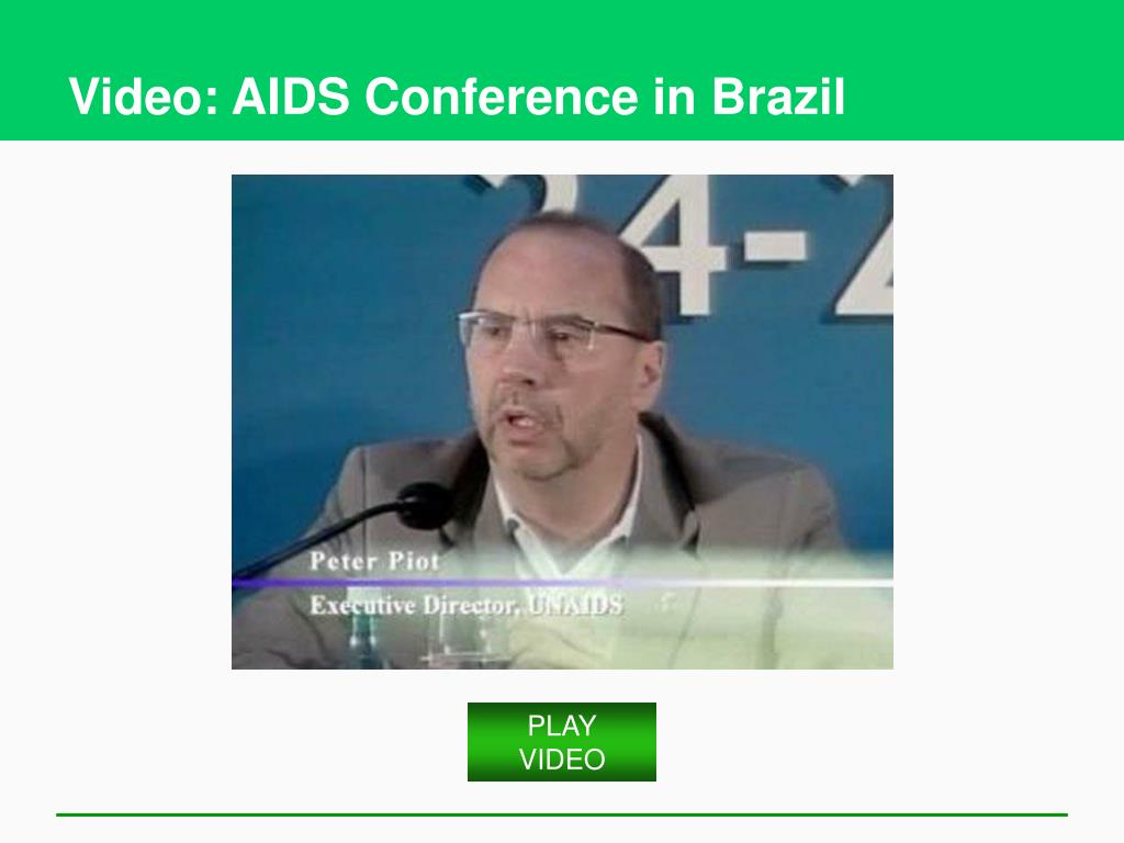 Video: AIDS Conference in Brazil