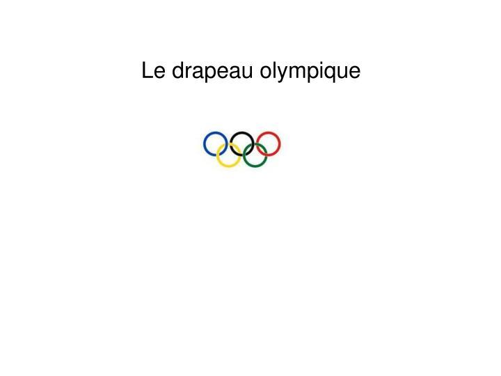 Le drapeau olympique