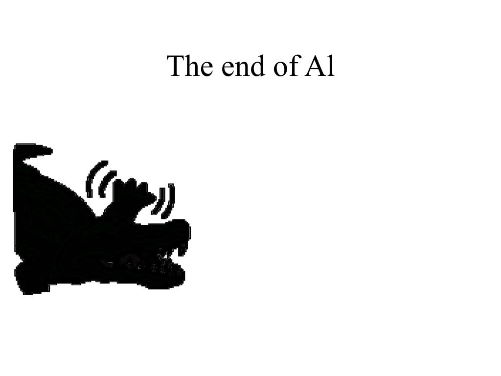 The end of Al