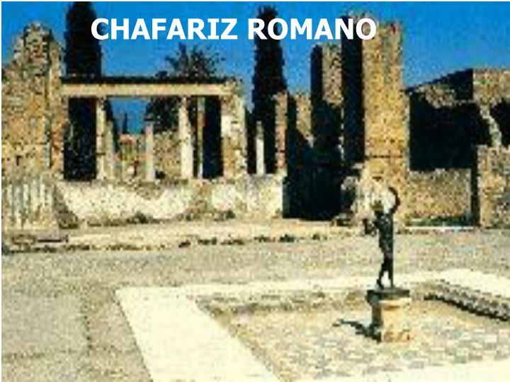 CHAFARIZ ROMANO