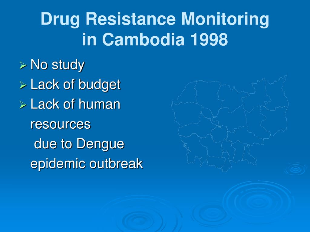 Drug Resistance Monitoring