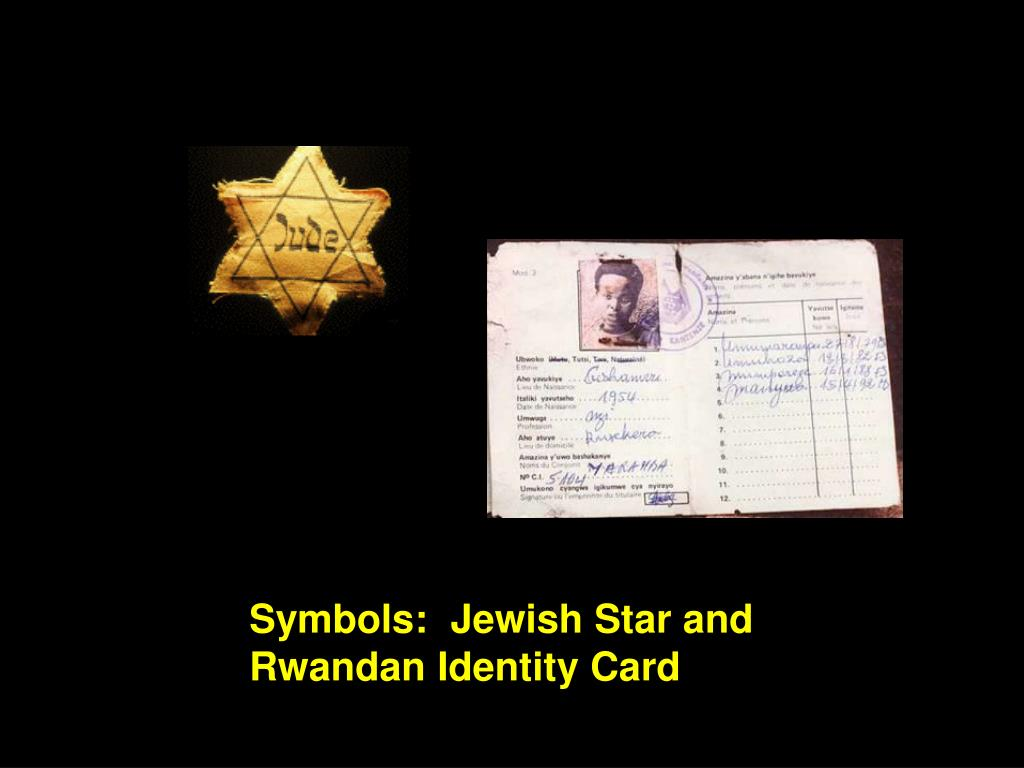 Symbols:  Jewish Star and