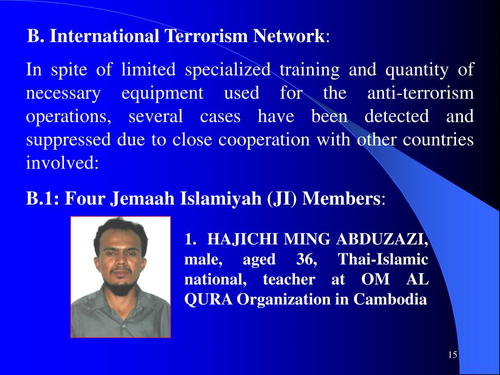 B. International Terrorism Network