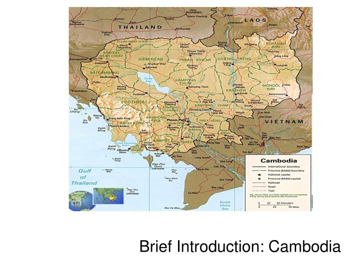 Brief introduction cambodia