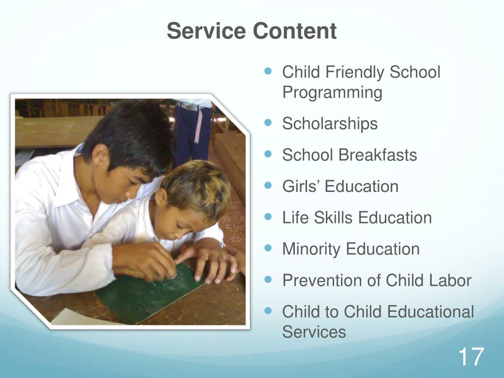 Service Content