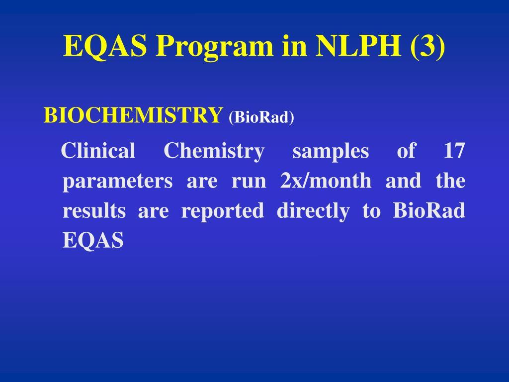 EQAS Program in NLPH (3)