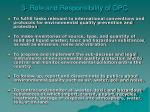 3 role and responsibility of dpc