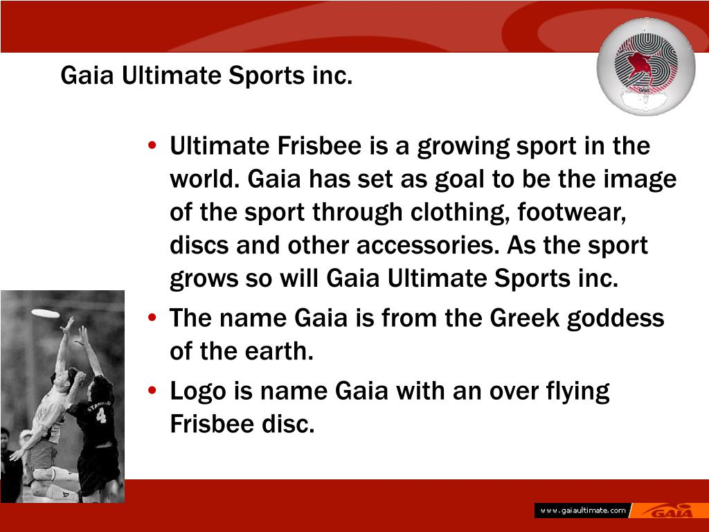 Gaia Ultimate Sports inc.