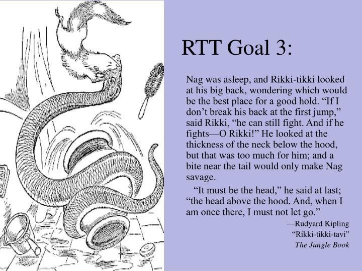 RTT Goal 3: