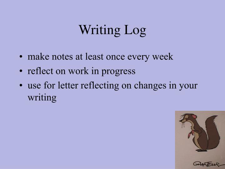 Writing Log
