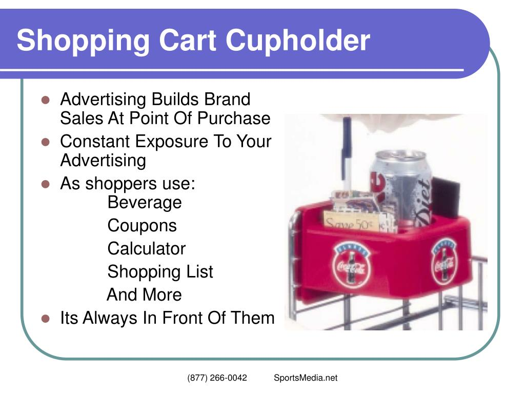 Shopping Cart Cupholder