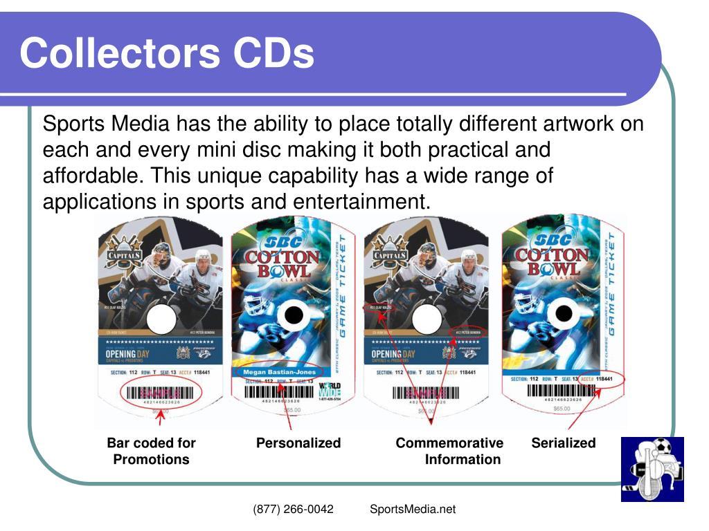Collectors CDs
