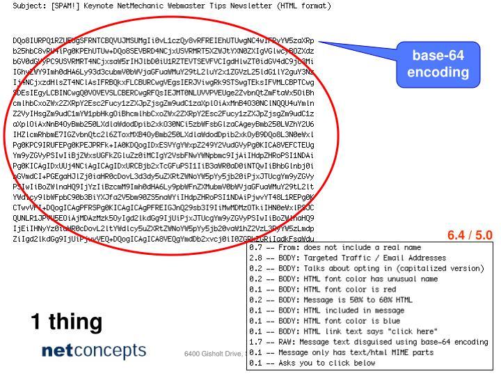 base-64 encoding