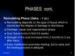 phases cont