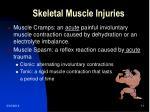 skeletal muscle injuries11