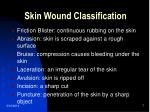 skin wound classification
