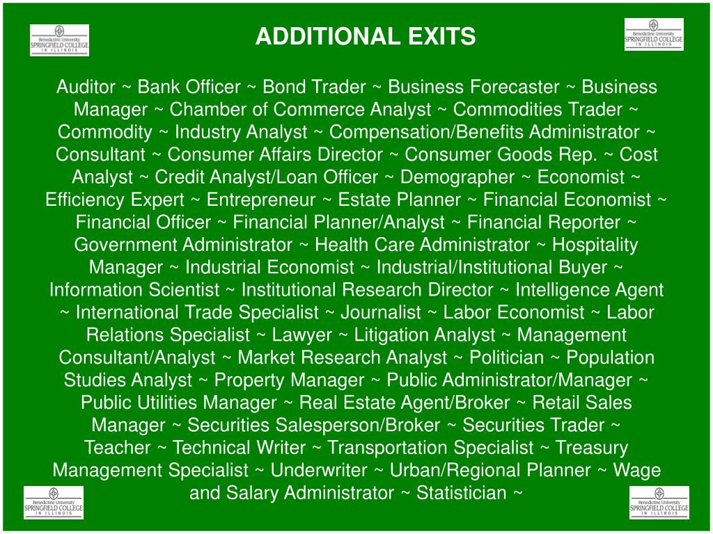 ADDITIONAL EXITS