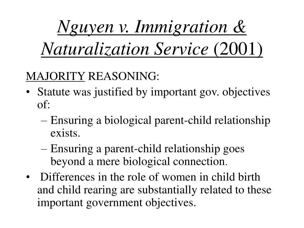 Nguyen v. Immigration & Naturalization Service