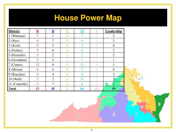House Power Map