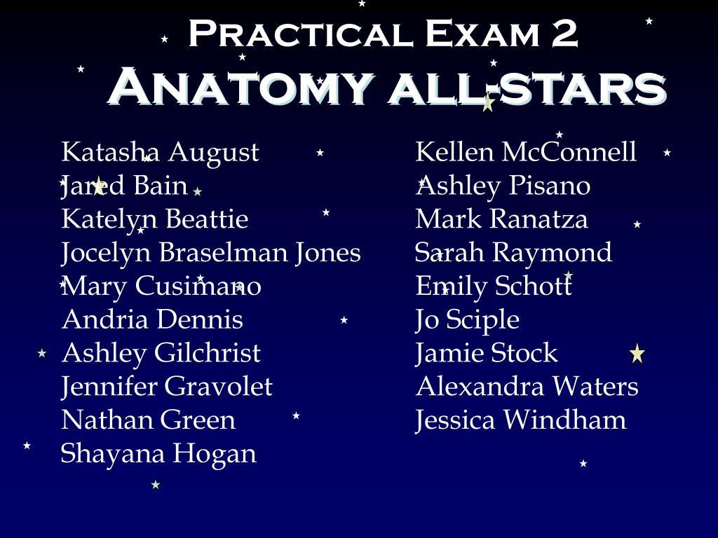 Practical Exam 2