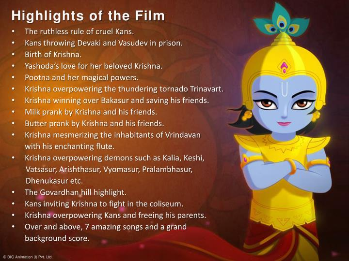 Highlights of the Film