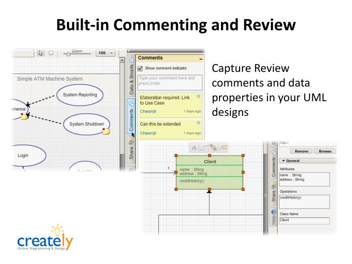 Built-in Commenting and Review