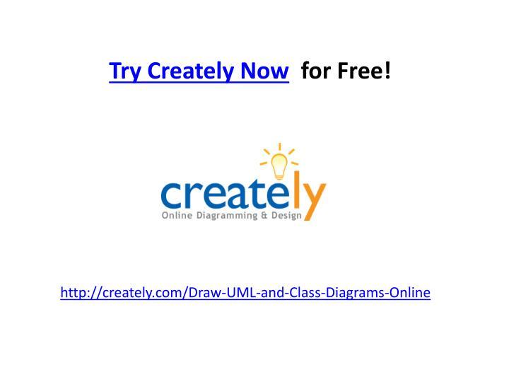 Try Creately Now