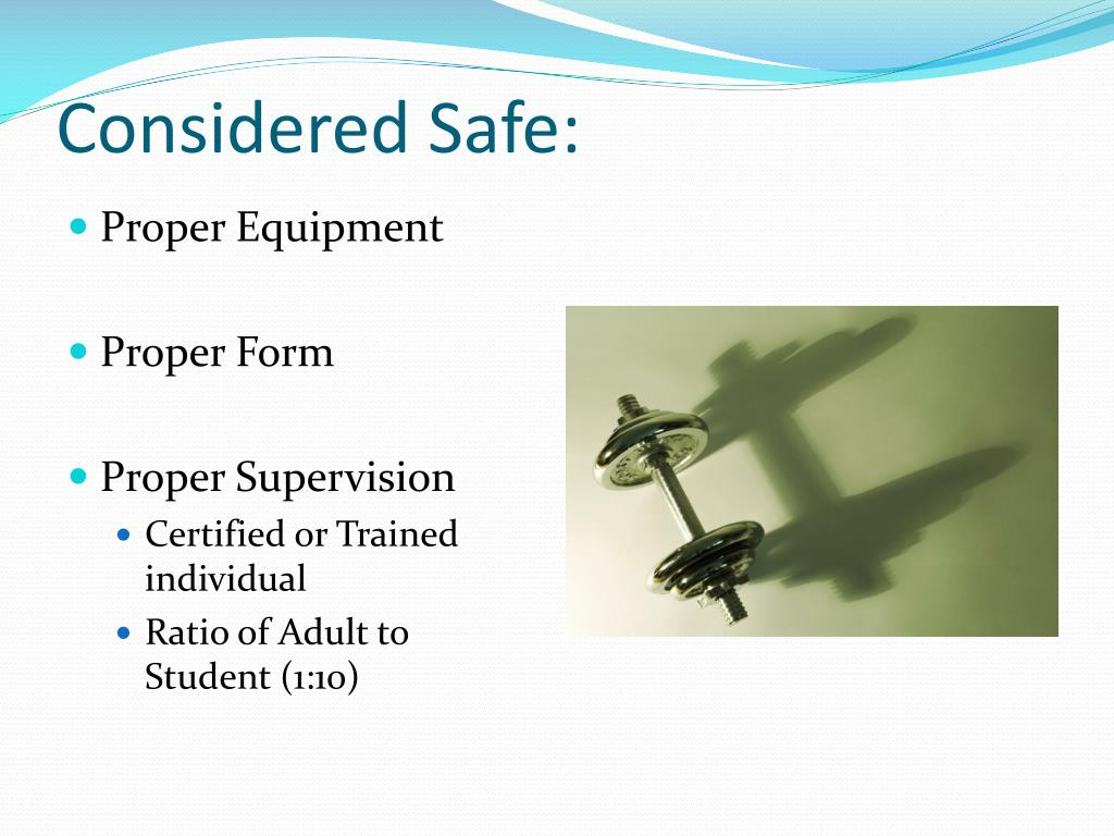 Considered Safe: