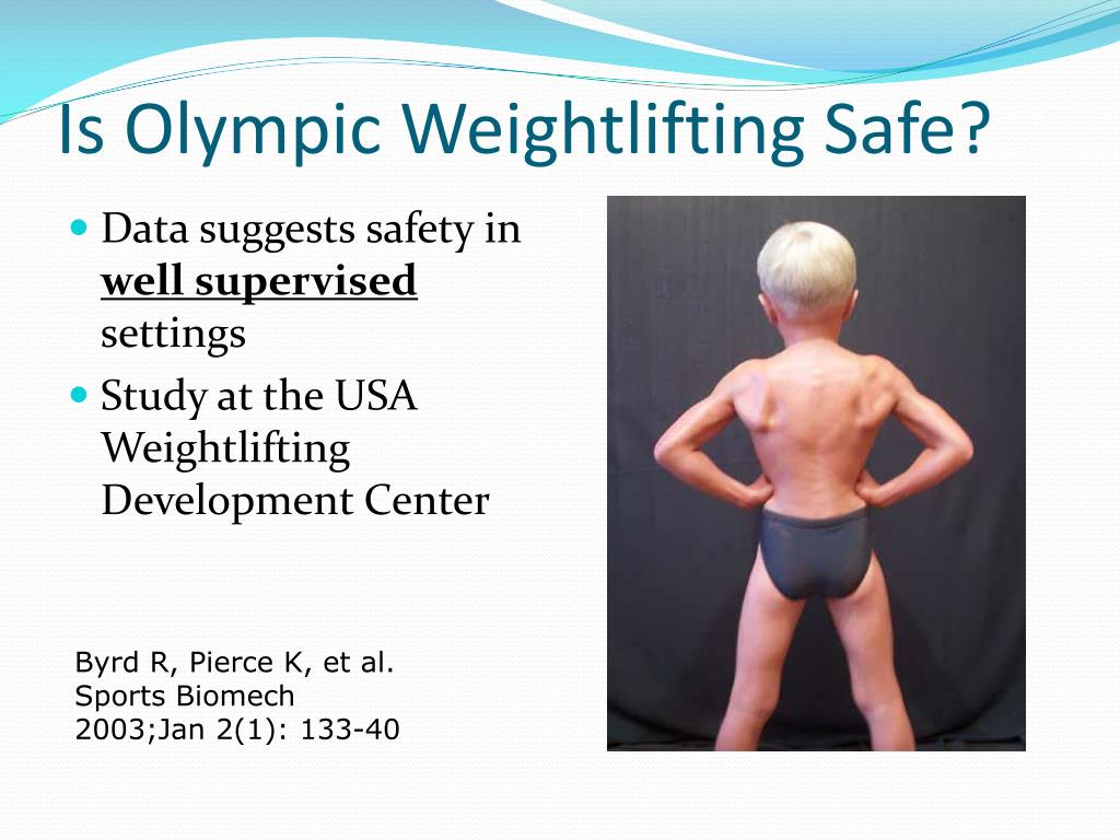 Is Olympic Weightlifting Safe?