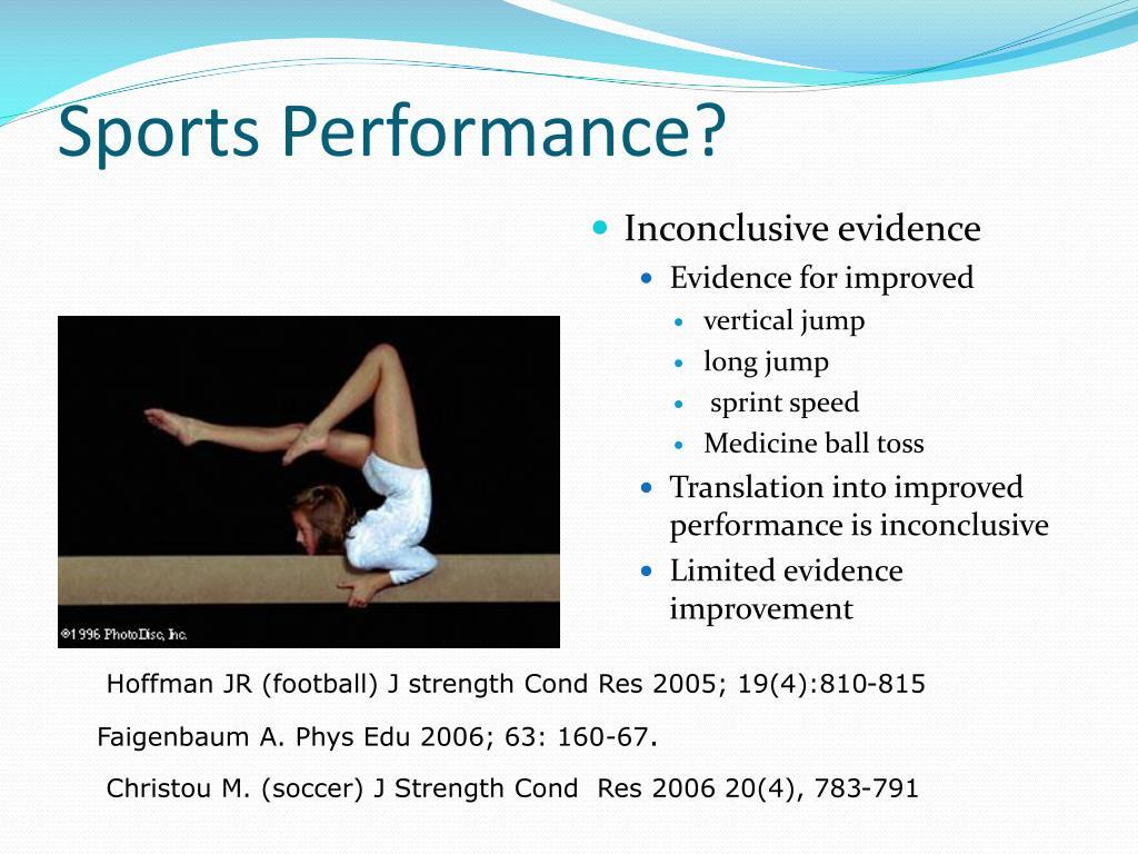 Sports Performance?