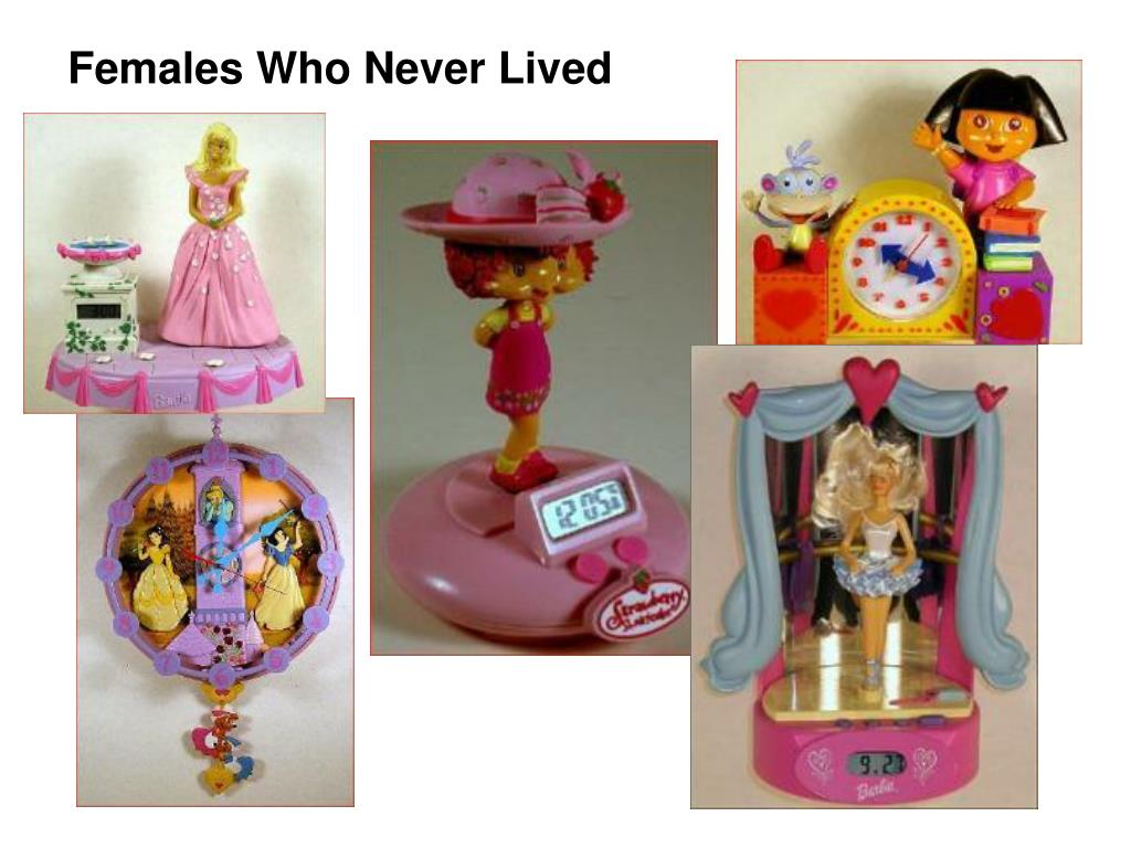 Females Who Never Lived