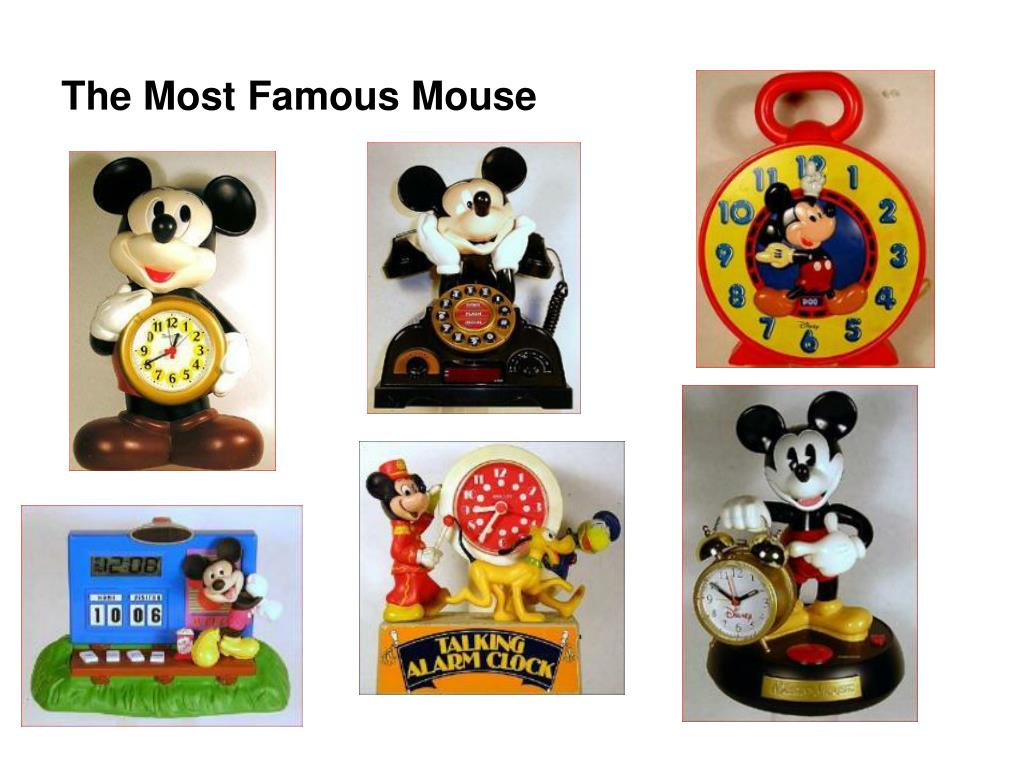The Most Famous Mouse