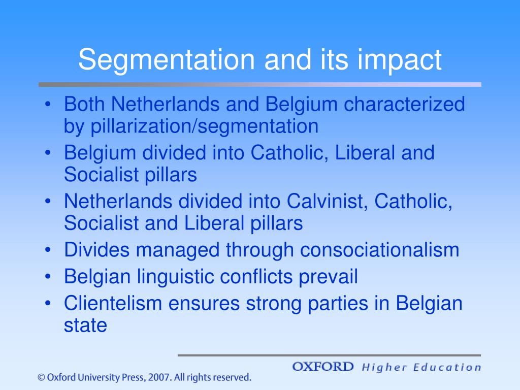 Segmentation and its impact